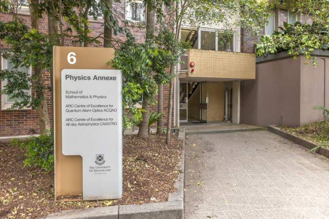 Entrance of Physics Annexe